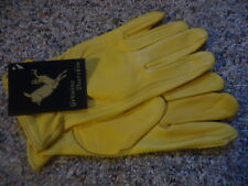 Deerskin Leather Work gloves, unlined, XLarge, North American Trading