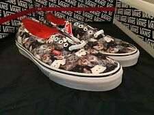 New Vans Authentic ASPCA Cats Mens Size 11 Rare BNIB Vault OG LX FOG