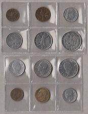 REGNO D'ITALIA 6 MONETE DIVERSE FASCISMO SERIE IMPERO Italy Kingdom Coins Belle