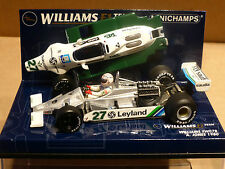 Minichamps 1:43 Alan Jones Williams Fw07b # 27 F1 Race Car Con Motor De 1980