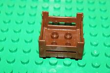 Lego Duplo Zoo - Futter Korb dunkel braun für Tiere vom Zoo oder Bauernhof 4971