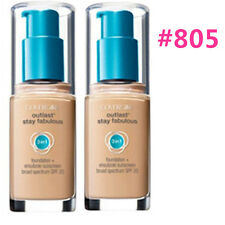 Two COVERGIRL Outlast Stay Fabulous 3 in 1 Foundation #805 Ivory