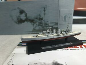 ATLAS EDTIONS - HMS EXETER - 1/1250 SCALE MODEL - BATTLE SHIP COLLECTION