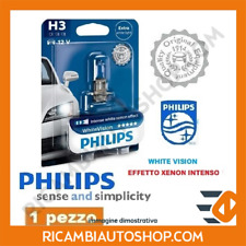 1 LAMPADINA H3 WHITE VISION PHILIPS FIAT SEICENTO / 600 0.9 KW:29 1998>2010 1233