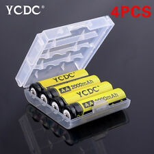 4Pcs YCDC AA 2000 mAh Pre/Stay Charge Ni-MH Cells Rechargeable Batteries 6705