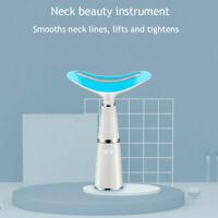 45° Electric Vibration LED Photon Massager Face Lifting Neck Massager Skin Care