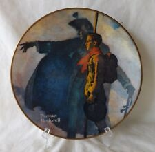 """Origl Vintage Gorham 8 1/2"""" Norman Rockwell Boy Scouts """"A Scout is Loyal"""" Plate"""