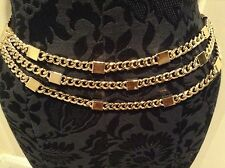 """ST JOHN COLLECTION..DESIGNER JEWELRY..36""""..BELT/NECKLACE..CLASSIC"""