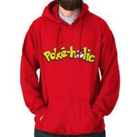 Pokeholic Video Gaming Master Trainer Gift Hoodies Sweat Shirts Sweatshirts