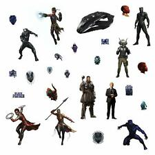 Marvel The Black Panther RoomMates Vinyl Wall 26 Bedroom Decals Stickers