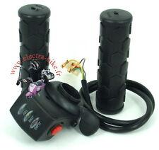 1 PAIR THROTTLE ELECTRIC BIKE 1 SWITCHE BATTERY LEVEL 48V E-BIKE