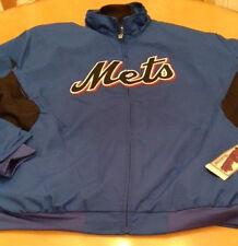 "MAJESTIC/ MLB- New York METS ""Premier Therma Base Jacket""- Size Extra Large"