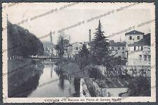 VICENZA CITTÀ 59 PONTE Fiume RETRONE Cartolina viaggiata 1917