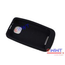 for Nokia Asha 311 New Black Silicone Silicon Skin Soft Back Cover Case ZVSF890