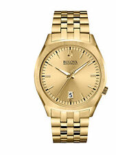 Bulova Accutron II Men's 97B134 Surveyor Quartz Gold-Tone Bracelet 41mm Watch