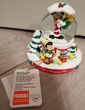 SNOW GLOBE / Boule à Neige 65 MM NOEL / Christmas Disneyland Paris