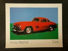 Andy Warhol - Mercedes-Benz 300 SL Coupe - Cars - 1988 - Offset Poster