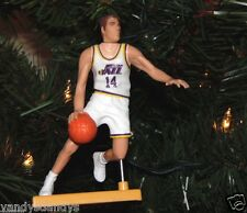jeff HORNACEK utah JAZZ basketball NBA xmas TREE ornament HOLIDAY vtg JERSEY #14