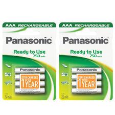 Panasonic 8x AAA 750 mAh Pilas Recargables puede sustituir la batería del teléfono 550 mAh