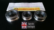 Suzuki GSXR 1000  2009 - 2016 Captive wheel Spacers. Full set. UK made.