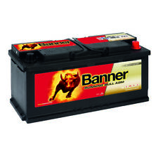 BANNER Running Bull AGM Autobatterie 12V 105AH ersetzt 100Ah 110Ah Audi BMW