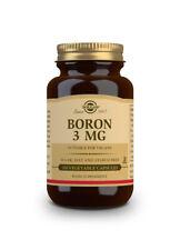 Solgar Boron 3 Mg Vegetable Capsules Pack Of 100