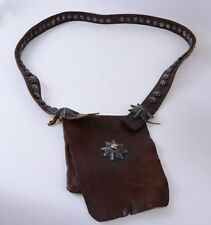 Mid 20th Century Navajo Bandolier Bag with 58 small and 3 large buttons