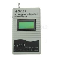 GY560 FREQUENZIMETRO 50MHZ-2.4GHZ FREQUENCY COUNTER METER PER RICETRASMITTENTE