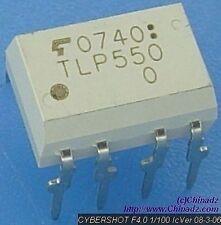 TOSHIBA TLP550 DIP-8 TOSHIBA Photocoupler Infrared LED +Phot