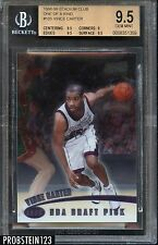 1998-99 Vince Carter Stadium Club One Of A Kind RC #109/150 BGS 9.5 POP 3