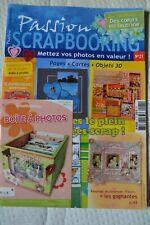 Magazine passion scrapbooking n°21