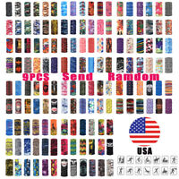 9pcs Neck Gaiter Tube Scarf Bandana Head Face Mouth Cover Cycling Snood Headwear