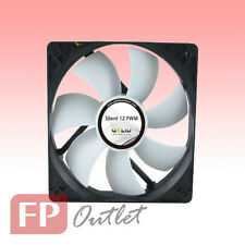 GELID SILENT 12cm 120mm PWM 4-pin Intelligent Low Noise Rubber Mount PC Case Fan
