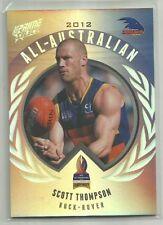 2013 AFL select PRIME ADELAIDE CROWS SCOTT THOMPSON ALL AUSTRALIAN AA17 CARD