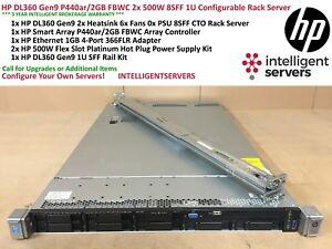 HP DL360 Gen9 V3 Fully Configurable CTO 2U Rack Server