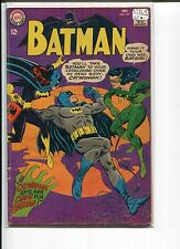 BATMAN 197 VG+  4th S.A. CATWOMAN  MOLDOFF 1963 1st NEW BAT-GIRL IN BATMAN 1968