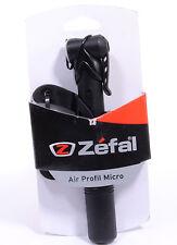 Zefal Air Profil Micro Mini Bicycle Pump, 100 PSI, Black