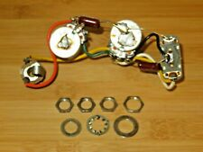 Danelectro 1965 Nickel Stacked Electronic Control Pots Harness