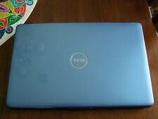 "Complete blue Dell Inspiron 1545 Dual core 15.6"" led 4GBram 320GBhd win10 Office"