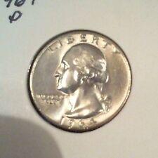1964 D   WASHINGTON QUARTER.  CH BU