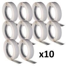 10 Pièce KNAUF Alux Bord D'Angle Construction à Sec Coin Placoplâtre 50mmx30m