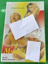 SEALED Old Vintage Adult Playing Cards PIN UP Art Glamour Model NUDE GIRLS