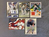 AUTOGRAPHED/JERSEY Baseball Card Lot 1997-2018 MARK PRIOR JOE MUSGROVE
