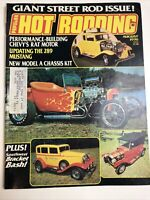 "Vintage ""Popular Hot Rodding""  Magazine ~August 1976~"