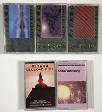 Lot of 5 Kitaro Cassette Tapes