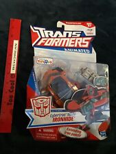 TRANSFORMERS ANIMATED Deluxe Autobot Cybertron Mode Ironhide Toysrus Exclusive