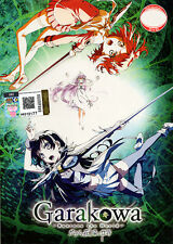 Garakowa -Restore the World [Glass no Hana to Kowasu Sekai] Anime DVD- US Seller