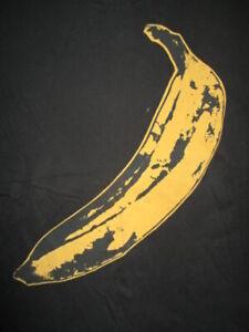 Retro VELVET UNDERGROUND & NICO Concert Tour (LG) T-Shirt ANDY WARHOL Lou Reed