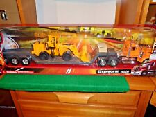 New Bright Long Haul Trucker 1/32 Kenworth W 900 with Front End Loader