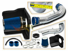 Heat Shield Cold Air Intake + BLUE For 07-08 Silverado Tahoe Yukon 4.8L 5.3L V8